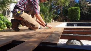 En cours / terrasse bois exotique